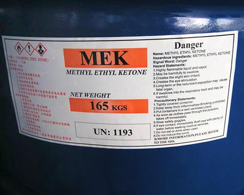 M.E.K ( Methyl Ethyl Ketone )